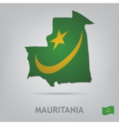 Mauritania vector