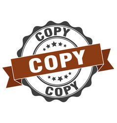 Copy stamp sign seal vector