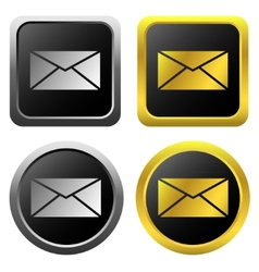 Email message icons vector