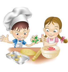 kitchen fun vector image