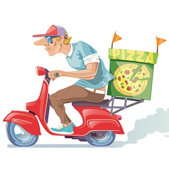 Pizza delivery vector
