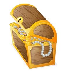 a jewellery box vector image