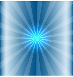 Blue background with lens flare vector