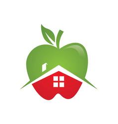 Apple logo icon vector