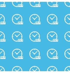 Overnight daily workhours straight pattern vector