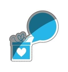 Romantic heart concept vector image vector image