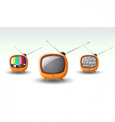 Funky tv vector