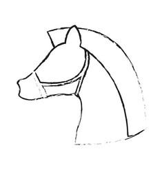 Horse animal icon image vector