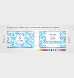 Designer-business-card-design-template vector