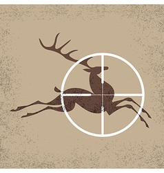Deer hunter vector