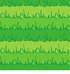 Seamless vegetation background green grass vector