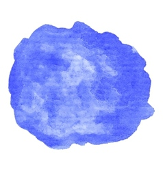 Hand painted watercolor blob vector