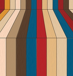 Plank wood retro wallpaper background vector