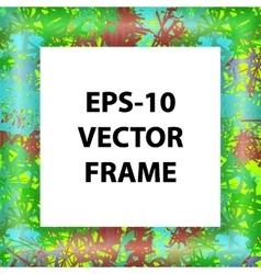 Set of multicolored framework for registration vector