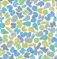 seamless pattern with hand drawn lines te vector image