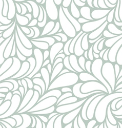 Abstract curls pattern vector image