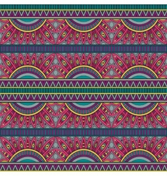 Abstract tribal ethnic seamless pattern vector image