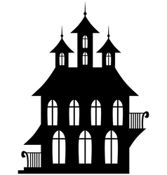 Gotic house vector