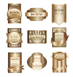 Golden labels vector