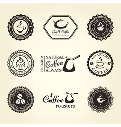 Coffee frames vector image