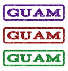 Guam watermark stamp vector