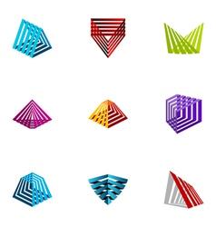 Logo design elements set 19 vector
