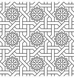 Oriental ornate vector image vector image