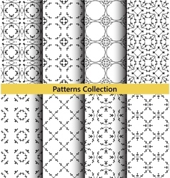 Patterns floral hand drawn vector
