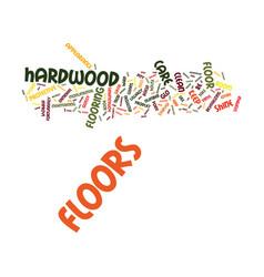 Floor care text background word cloud concept vector
