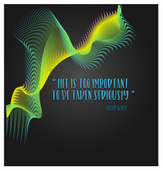 Life quote background vector