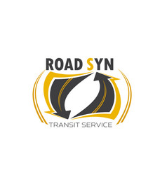 Transport transit service symbol vector