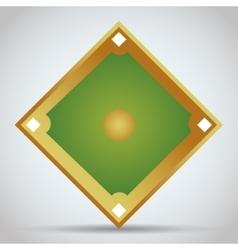 League of baseball sport design vector