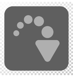 Redo rounded square button vector