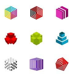 logo design elements set 20 vector image