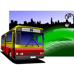 al 0613 bus 04 vector image vector image