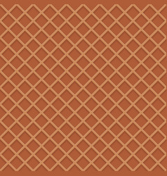 Chocolate wafer background vector