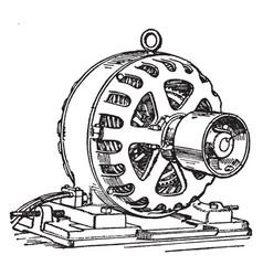 Induction motor vintage vector
