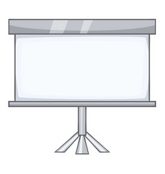 projection screen icon cartoon style vector image