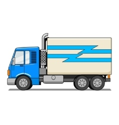Truck cartoon vector