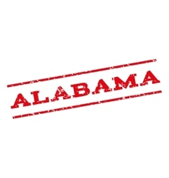 Alabama watermark stamp vector