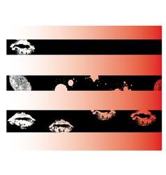 Black Grunge Strips 3 vector image vector image