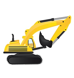 Cartoon digger vector
