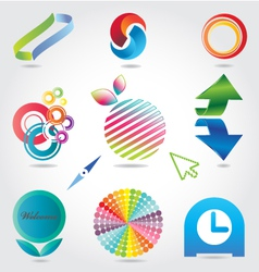 Designing-elements vector