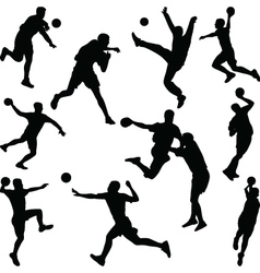 handball player vector image vector image
