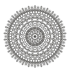 mandala for coloring vector image vector image