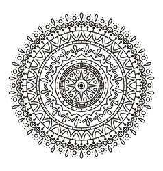Mandala for coloring vector