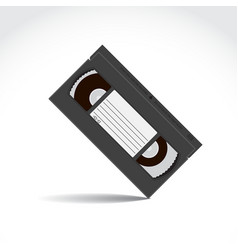 Vhs tape vector