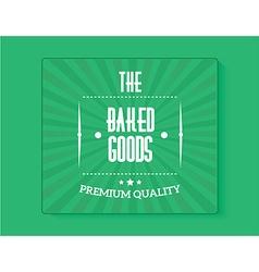 bakery banner vector image