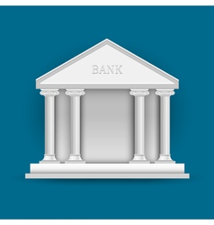 Bank vector image