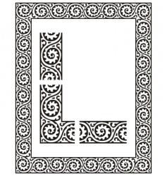 border vector image vector image